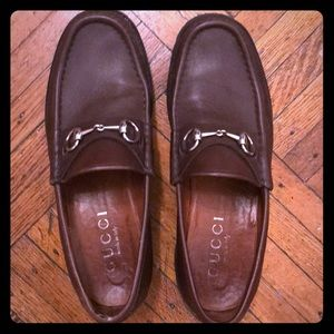 Gucci bit loafers